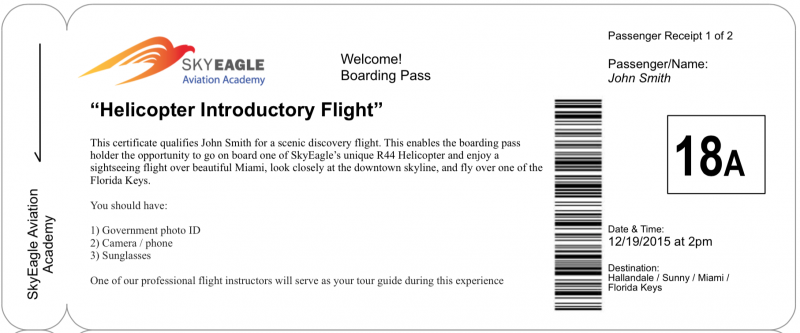 Gift Certificate SkyEagle