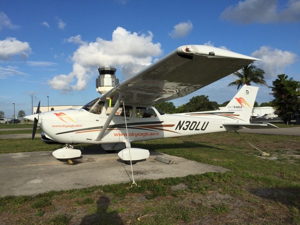 New Airplane Of SkyEagle Fleet – G1000 Cessna 172R
